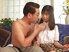 Avmost. Com - Japanese Schoolgirl Fucked And Cum Laoded To Pass H