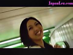 Beautiful Asian Japanese Bra Felt Up