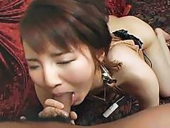 Hardcore pussy pounding in action