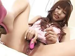 Kotone Aisaki gets serious on a big and tasty cock