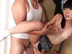 Two Petite Jav Teen Schoolgirls Fucked By Fat Old Duffer Small Butts