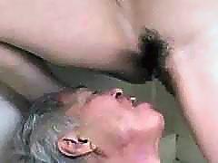 Midori Shino pleasuring her old father in law