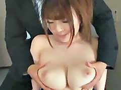 Busty Schoolgirl In Swimsuit Getting Her Tits Rubbed Giving Blowjob Rubbing Schoolguy Cock With Tits Cum To Boobs In The Locker Room