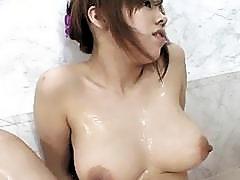 Huge tits slut Miu Satsuki masturbation