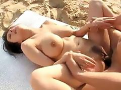 Kyouko Maki big tits Japanese wants to fuck until exhaustion