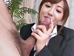 cutie asian eats cum