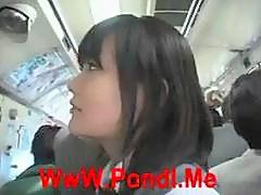 [Japan Porn] Public Blowjob On Bus  02