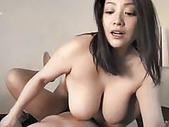 Busty Japanese Minako Komukai Getting Fucked