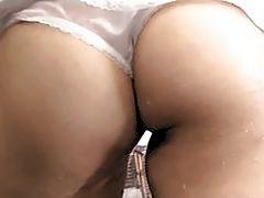Warm shower masturbation solo with Koyuki Ono