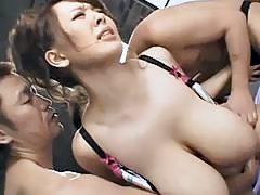 Busty asian pornstar Hitomi Tanaka sucks and fucks