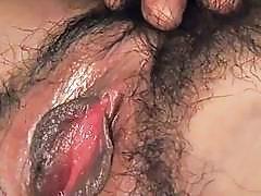 Ravishing a hairy Japanese cunt